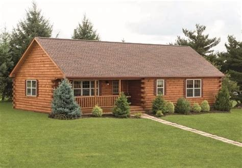 Best Of Log Cabin Style Mobile Homes  New Home Plans Design