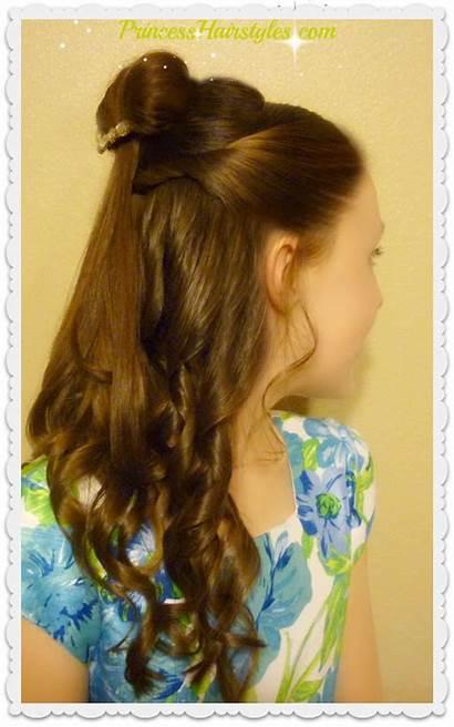 Belle Beauty Beast Hairstyle Tutorial Hair Disney