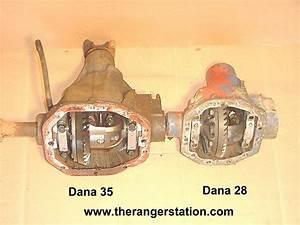 Dana 35 3rd Member Removal - Ranger-forums