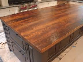 kitchen island with cutting board top i must this fabulous wood plank countertop stunning
