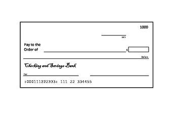 blank check template editable blank check template vision cheque templates in three versions dollar and