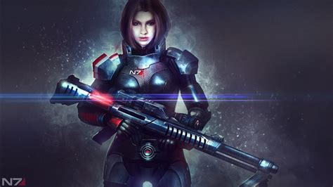 mass effect alexandra shepard  wallpapers hd
