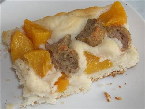 Sausage Peach Breakfast Casserole Recipe Food