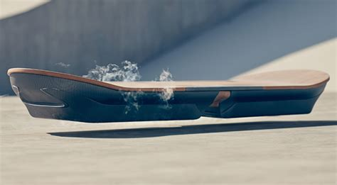 lexus reveals real life hoverboard powered  magnets