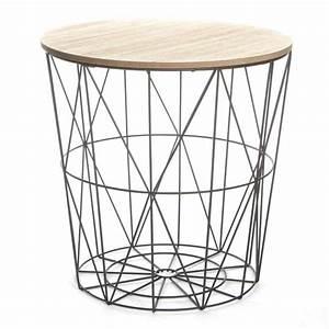 Table D Appoint Canapé : table d 39 appoint design kumi 41cm noir ~ Teatrodelosmanantiales.com Idées de Décoration