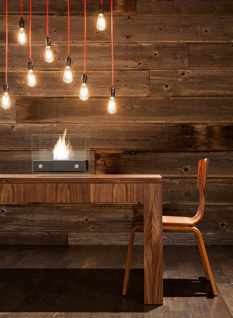 lighting fireplace dining table modern home in eugene