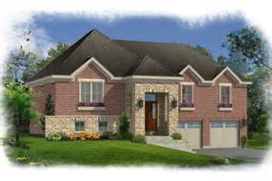 Images Split Level Entry House Plans by House Plans With Bi Level Split Foyer By Studer