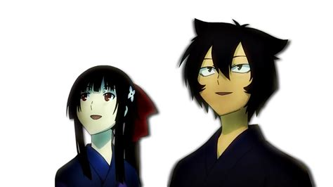 Sankarea Anime Wallpaper - rea and chihiro wallpaper and background 1366x768 id