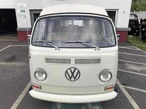 1968 Volkswagen Westfalia Van White Rwd Manual In 2020