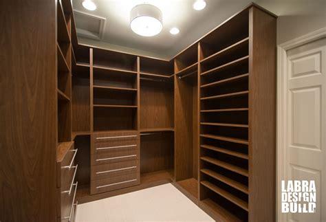 walk in master closet labra design build commerce mi
