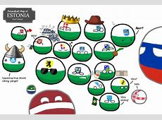 Polandball » Polandball Comics » Polandball Map of Estonia