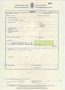 death certificate sample uk choice image certificate With uk death certificate template
