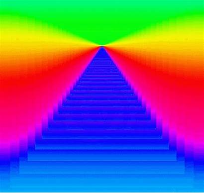 Rainbow Psychedelic Trippy Neon Animated Gifs Hypno