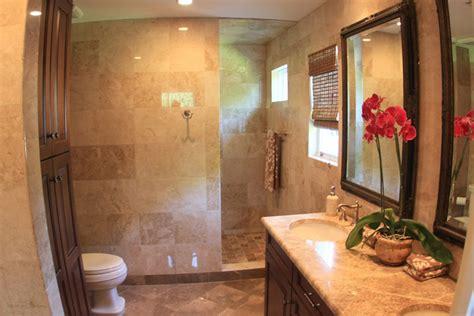 walk  showers  doors bathroom traditional  coastal