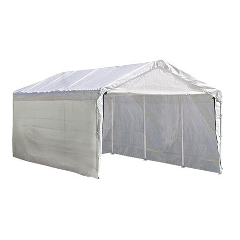 shelterlogic  ft   ft polyethylene canopy storage