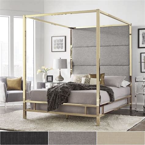 37037 gold canopy bed best 25 gold headboard ideas on pink and gold