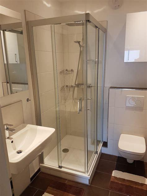 Dusche Für Kleines Bad by Kleines Bad Optimal Nutzen Glasdusche Und Fliesen Wirken