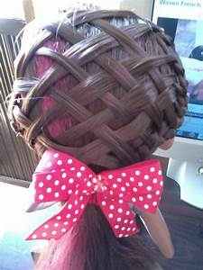 """Pretty Hairstyles78: """"You Braid, You Weave - Woven French ..."""