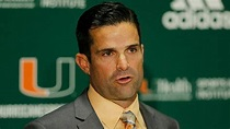 New Miami coach Manny Diaz fires entire offensive staff ...