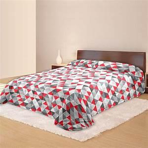 Couvre Lit Matelassé Ikea : couvre lit norv ge matelass motifs triangles standard textile ~ Melissatoandfro.com Idées de Décoration
