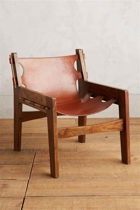 of the moment the leather sling chair www stylebeatblog
