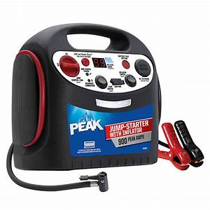 Peak 900-amp Jump Starter With Inflator