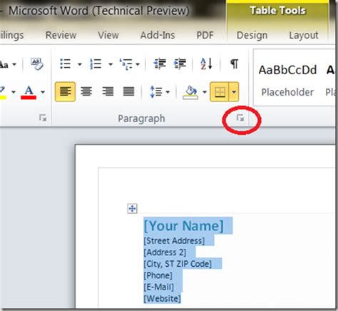 how to make a formal letter on microsoft word 2010 1000