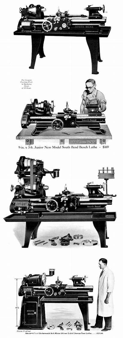 Bend Parts South Lathes Lathe Tools Early