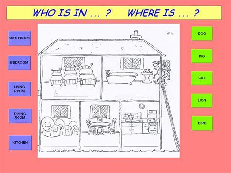 de la maison en anglais situation lve portail tice vaucluse 1er degr 233