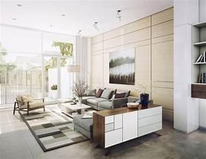 Tapis Forme Geometrique : tapis de salon moderne en 25 exemples et quelques astuces ~ Teatrodelosmanantiales.com Idées de Décoration