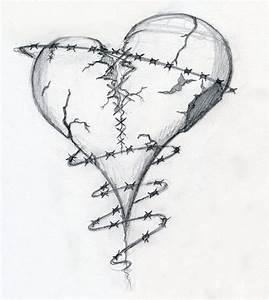 Broken Heart Drawings | Broken Heart by ~Dravek on ...