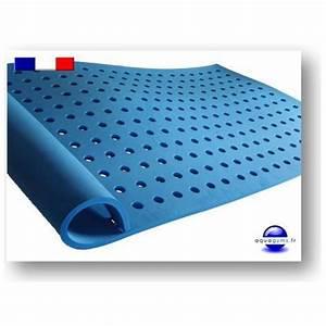 tapis piscine a trous avec support pour la tete With tapis antidérapant pour piscine