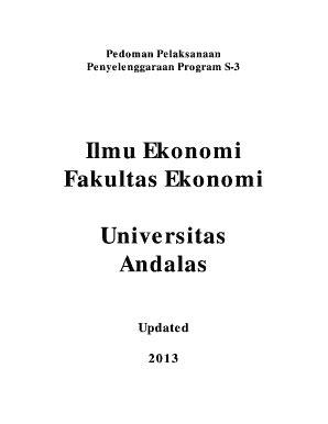 Fillable Online fekon unand ac 3e. Form layanan akademik