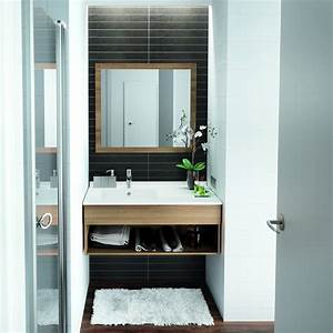 Salle De Bain Etroite : am nager une salle de bains de 2m2 marie claire ~ Melissatoandfro.com Idées de Décoration