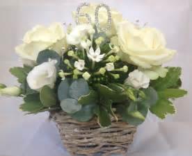 flower arrangement  oasis   diamond wedding