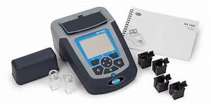 Hach Dr1900 Portable Spectrophotometer  Printed Basic