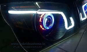 Mahindra Bolero Projector Custom Headlight  Style