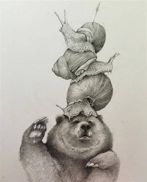 mind blowing funny pencil drawings  adonna khare