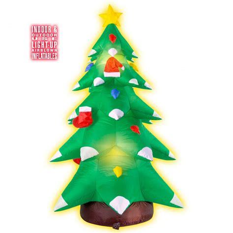 aufblasbarer weihnachtsbaum leucht christbaum 183 cm