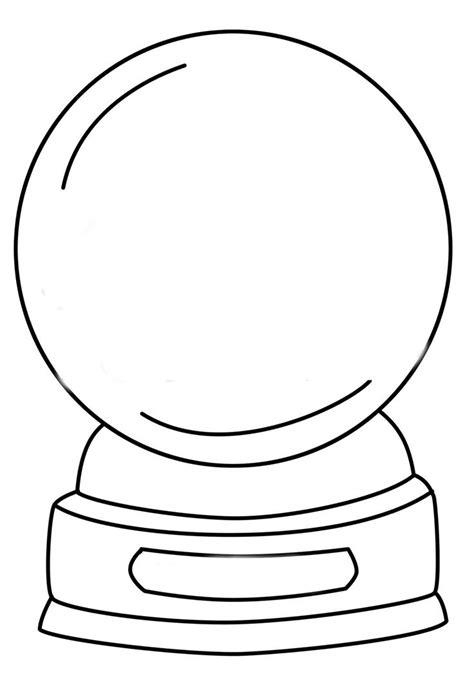 snow globe template 1000 images about snow globes on coloring pages globes and coloring