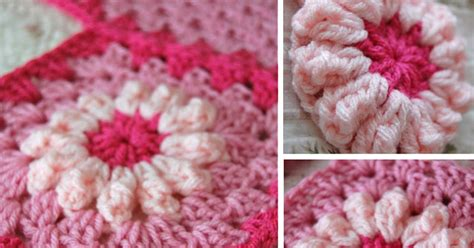 New Pink Flower Blanket
