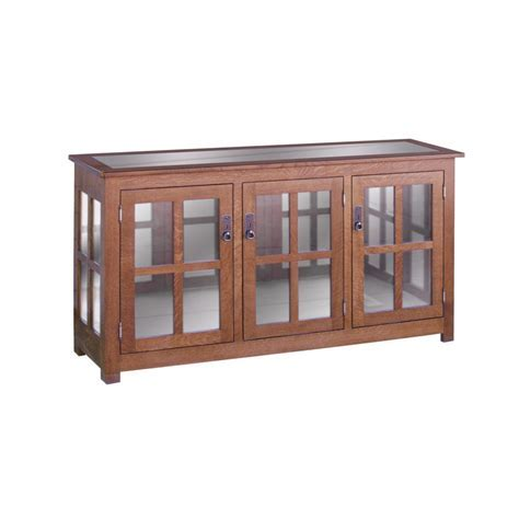 Curio Cabinet Three Door   Amish Crafted Furniture