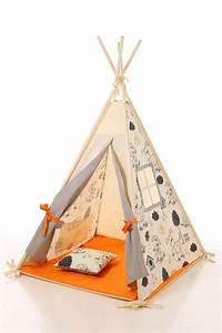Tipie Pour Enfant : 51 best kids teepee play tent wigwam children 39 s teepee playtent tipi wigwam kids teepee ~ Teatrodelosmanantiales.com Idées de Décoration