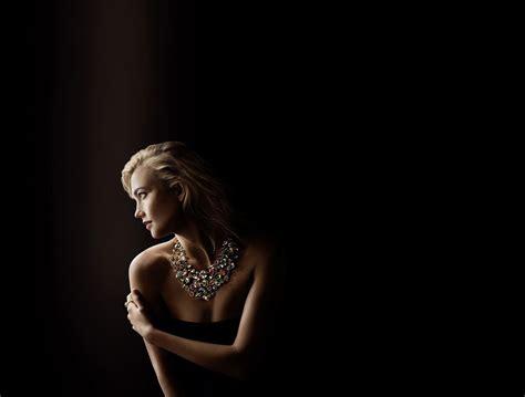 Karlie Kloss Swarovski Campaign Photoshoot