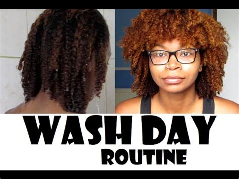 Wash Day Routine For Natural Hair !  Melfacemish Youtube