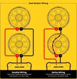 wiring diagram for kicker speakers subwoofer speaker wiring diagrams kicker 174