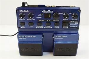 Digitech Jamman Looper Pedal Guitar Effects Pedal W   Power