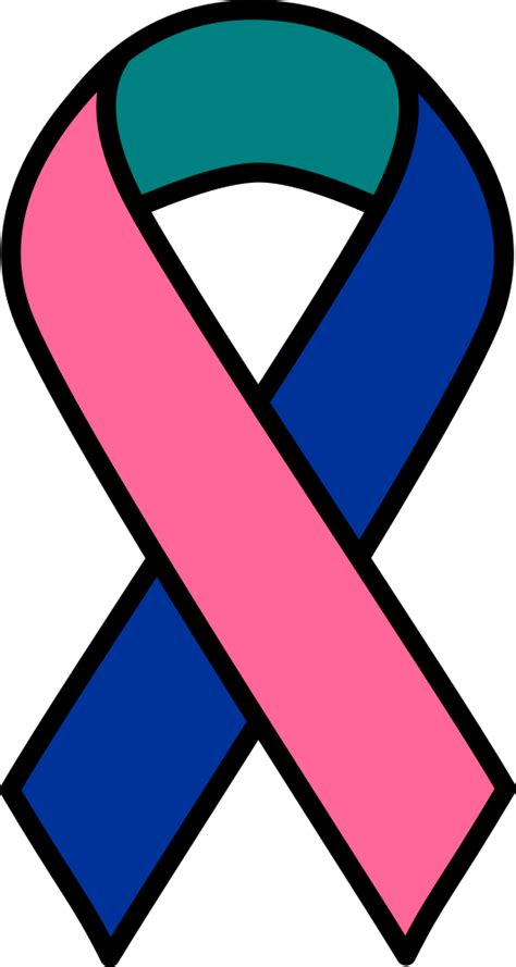 thyroid cancer ribbon color onlinelabels clip thyroid cancer ribbon