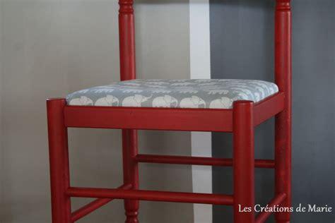 relooker une chaise en paille les créations de