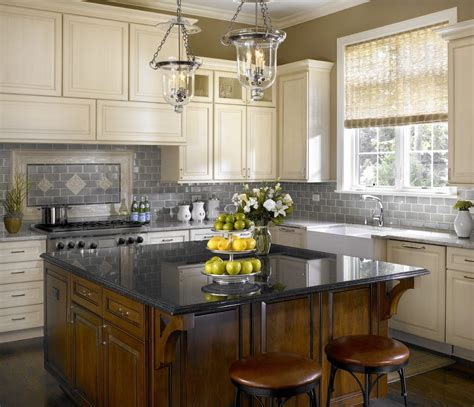 looking kitchen island lighting ideas with two tone